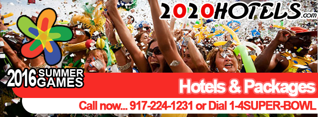 Book summer 2016 games here at 2020hotels.com